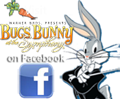 Bugs Bunny at theSymphony on Facebook